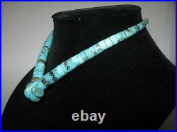 Native American Heishi Turquoise Necklace