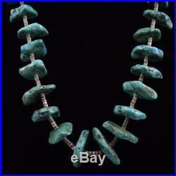 Navajo Chunky Turquoise and Heishi Necklace, c. 1950s-60s