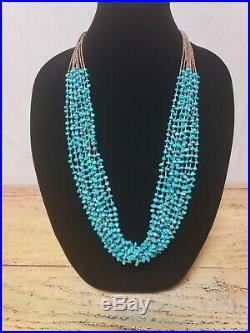 Ten Strand Santo Domingo Turquoise Nugget Necklace with Heishi Beads